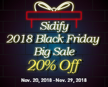 2018 Sidify Black Friday Offer